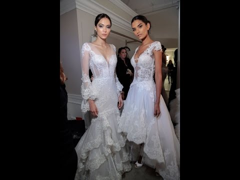 EXCLUSIVE BTS OF THE PNINA TORNAI DIMENSIONS COLLECTION RUNWAY SHOW
