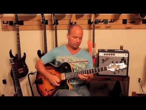 Jazz Chords Lesson II V I VI Raines Guitar Improvisation Bebop ...