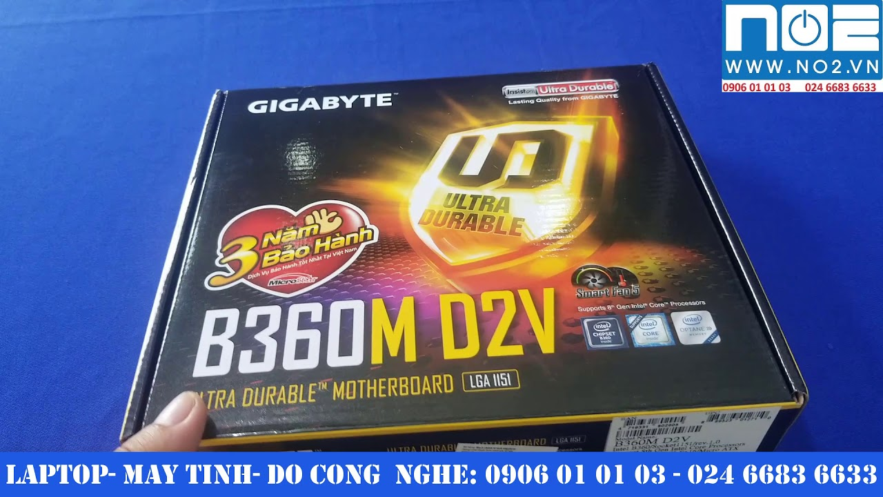 Gigabyte B360M D2V review