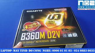 Gigabyte B360M D2V review