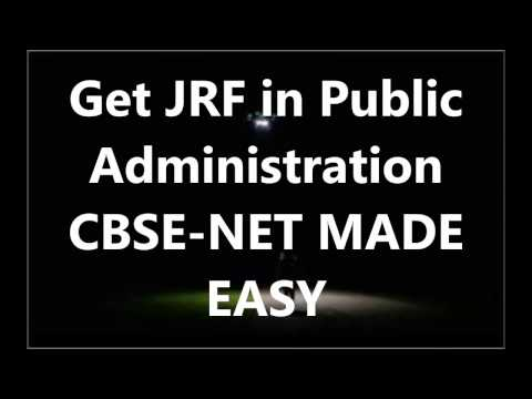 How to Prepare for CBSE NET in Public Administration- Interview with Raunak Bhagwate- Useful Tips