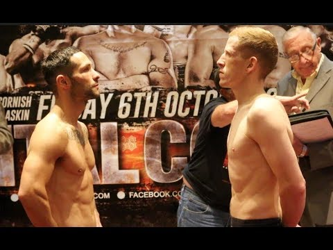 'SCOTTISH CANELO' - STEPHEN TIFFNEY v TROY JAMES - OFFICIAL WEIGH IN VIDEO / CAPITAL COLLISION