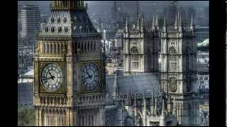 Westminster Palace. British Parliament - !!!most complicated model building of England