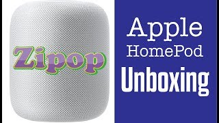 Apple HomePod Unboxing -  Too Heavy?