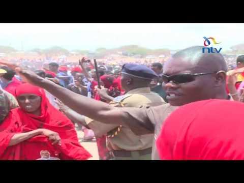 Uhuruto in Wajir: Uhuru Kenyatta tells locals to decide on local leaders but back his bid