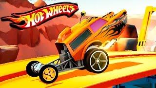 МАШИНКИ МОНСТР ТРАКИ ХОТ ВИЛС ЧУМОВЫЕ ГОНКИ игровой мультик про машинки как вспыш HOT WHEELS CARS 3