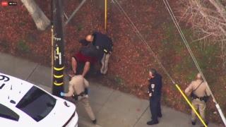 Live - 1/29/18  Police Chase San Fran