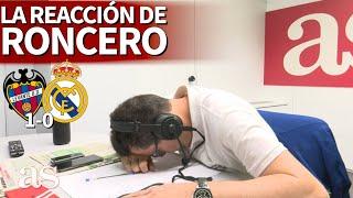 Gambar cover LEVANTE 1- REAL MADRID 0   A Roncero se le desconfiguró la cara: su reacción al gol de Morales   AS