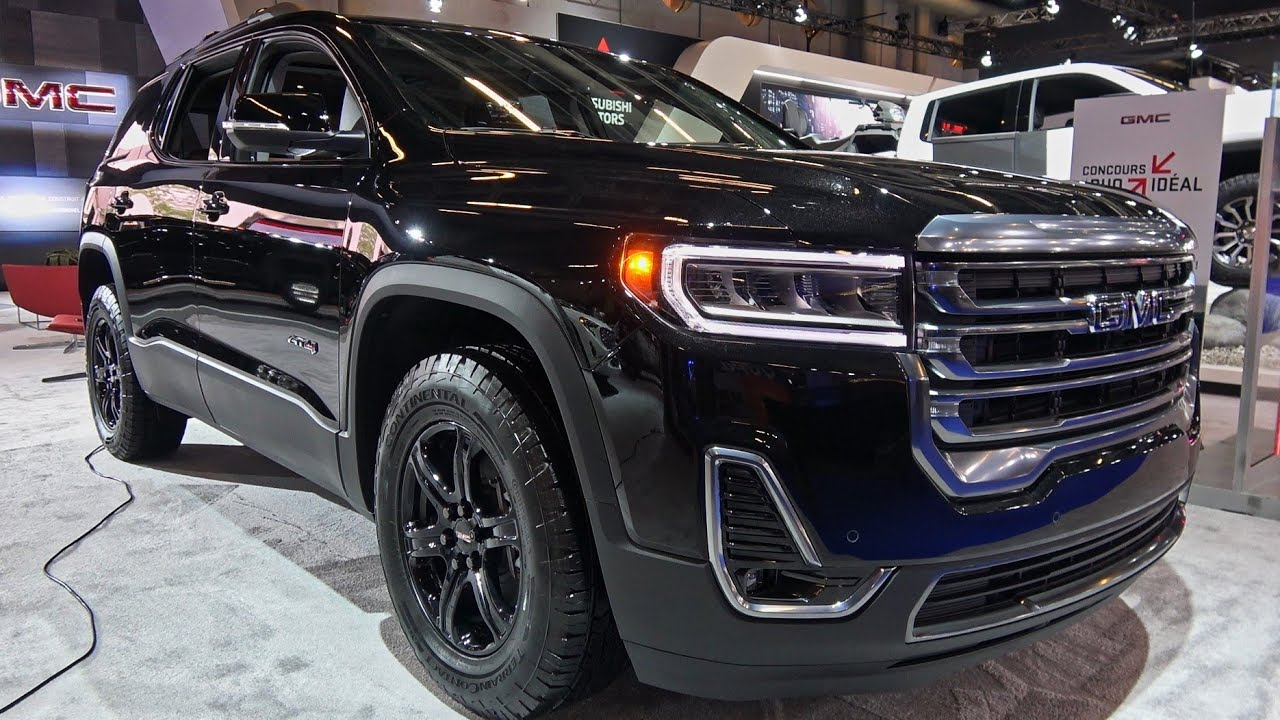 2020 Gmc Acadia At4 Detailed Look Montreal Auto Show 2020