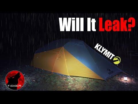 Will It Leak? - Test Night - Klymit Maxfield 2 Tent