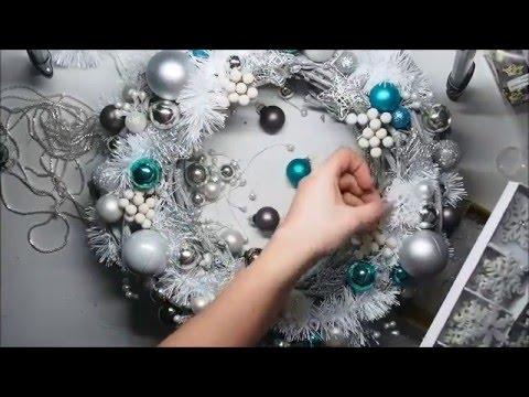 Easy DIY Christmas Wreath Ornament Tutorial