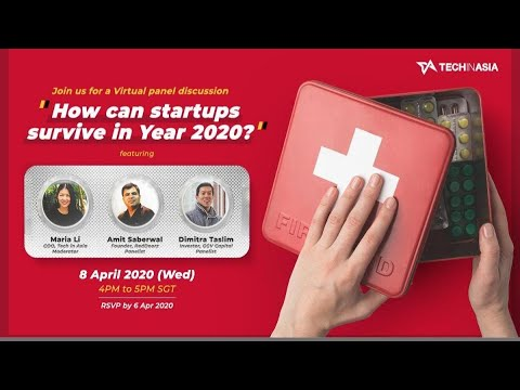 [Online Event] - How Can Startups Survive 2020?