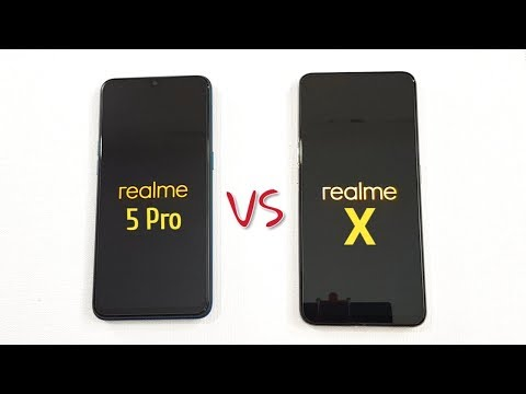Realme 5 Pro vs Realme X SpeedTest Camera Comparison