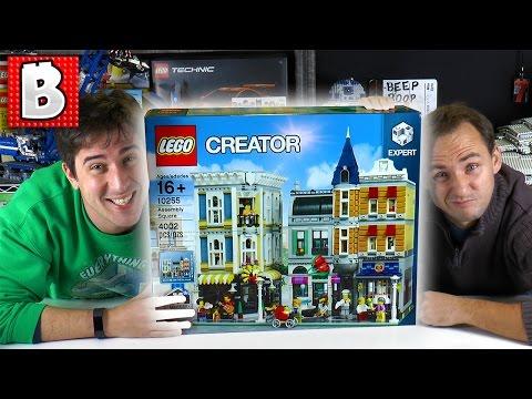 4000+ Pieces!!! Lego Assembly Square 10255 | LEGO Live Build & Review! | BrickVault LIVE