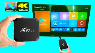 X96 Android Box - Unboxing & Review | 4K 2GB RAM 16GB ROM Amlogic S905