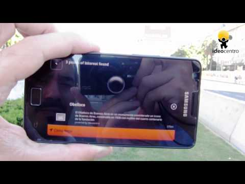 Augmented Reality Browser (Layar)