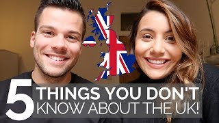 🇬🇧 5 OBVIOUS Things You Need to Know BEFORE You Visit the UK!🇬🇧