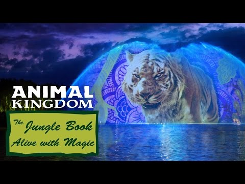 The Jungle Book: Alive with Magic *Water Screen View*