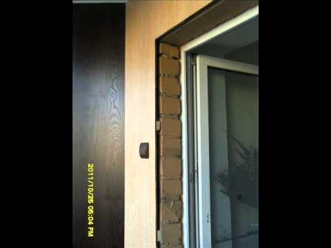отделка балкона ламинатом.wmv