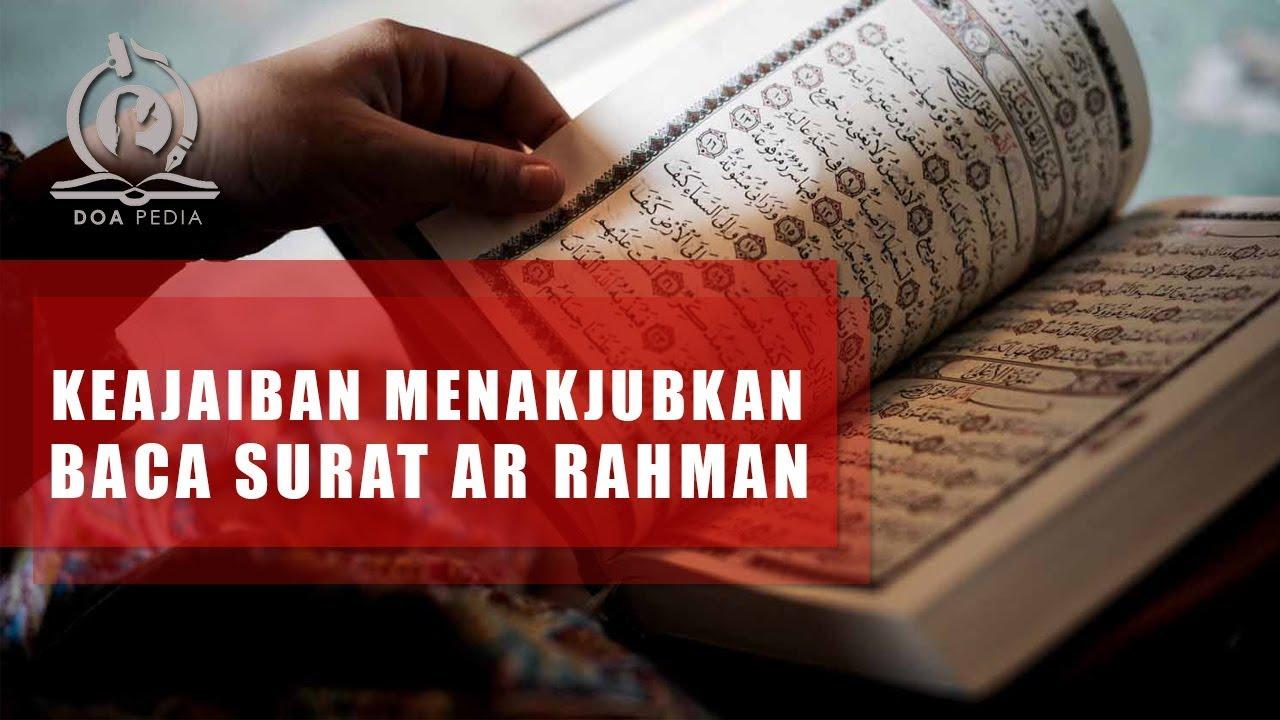Doa Setelah Membaca Surat Ar Rahman - Kumpulan Surat Penting