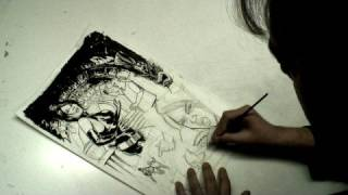 Creating Comic Books : Inking Comics With Brushes