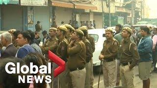 Devastating fire at garment factory in New Delhi kills 43