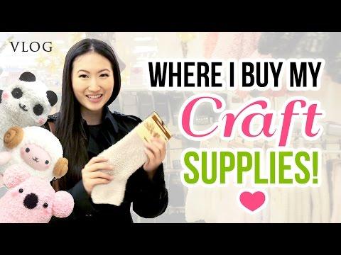Follow Me Around - Shopping in Vienna!! Buying DIY Craft Supplies