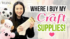 Follow Me Around - Shopping in Vienna!! Buying DIY Craft Supplies