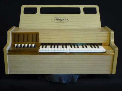 Magnus Chord Organ model #600, circa 1950's pictorial overview.wmv