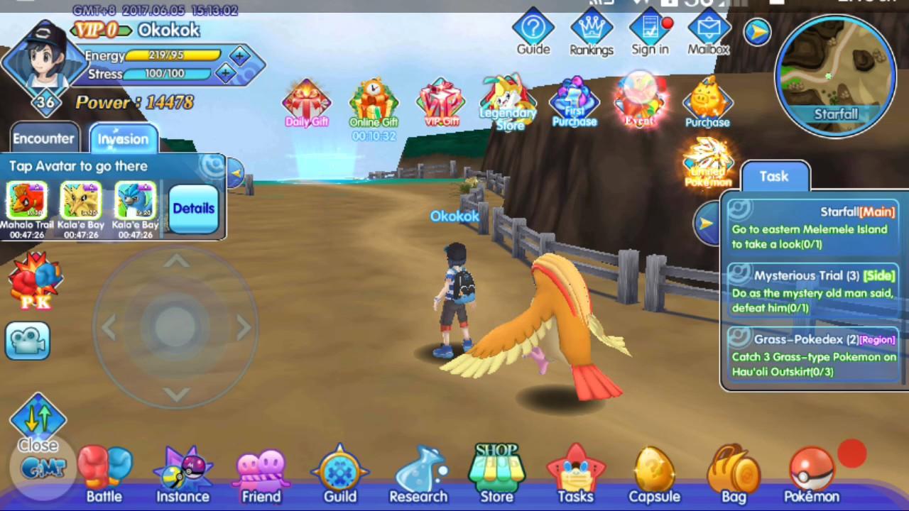 Comment jouer à Pokémon sur un appareil Android
