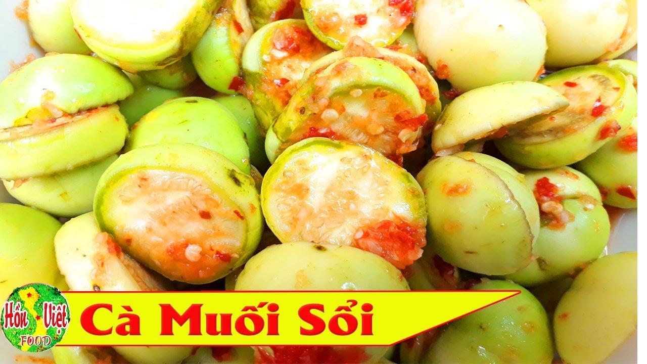 ✅ Làm Cà Muối Sổi Ăn Không Hăng Không Chát Nhanh Nhất | Hồn Việt Food