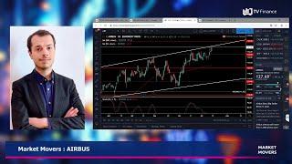 Market Movers : AIRBUS : Faibles volumes, objectif à 128,50€
