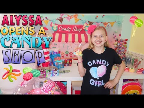 Alyssa&39;s Amazing Candy & Slime Shop