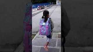 Primo giorno di scuola elementare Valentina