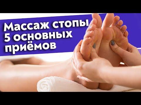 Видеоурок по массажу ног