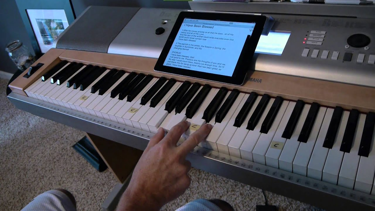 I Have Been Blessed Piano Tutorial   Matt McCoy