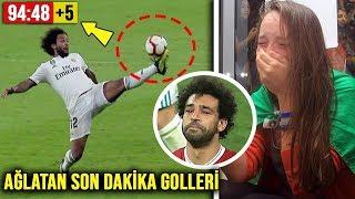 Futbol Maçlarında Bütün Dünyayı Ağlatan Son Dakika Golleri (Ronaldo, Messi, Neymar, İbrahimovich...)
