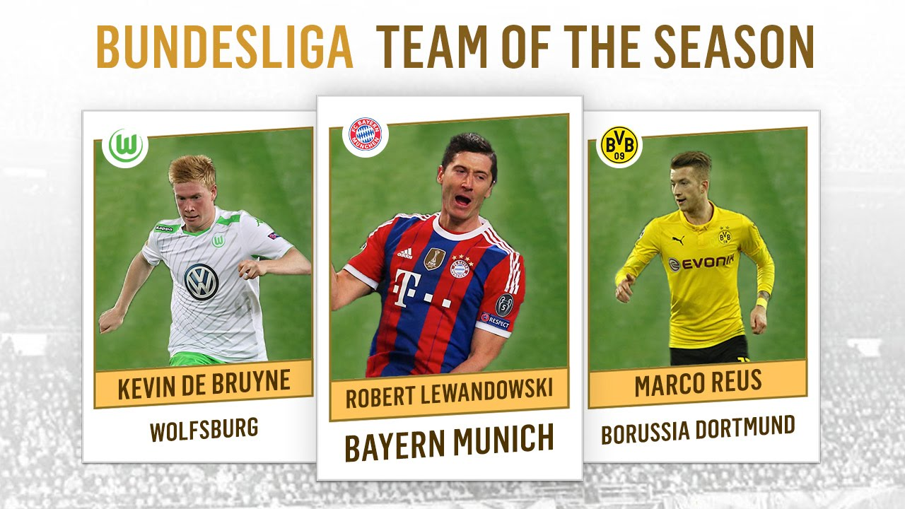Bundesliga team of the season 2014 2015 youtube