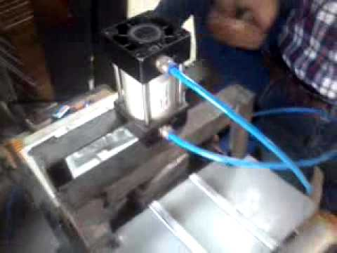 Pneumatic Punching Machine Youtube