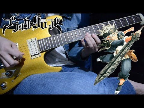 Black Clover OP 2 『PAiNT It BLACK - BiSH 』{TABS} Guitar Cover ブラッククローバー