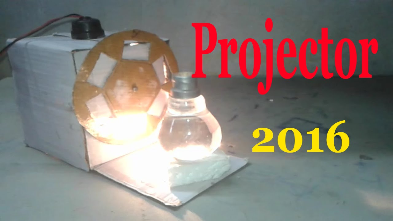 How to make a projector using bulb at home pdf
