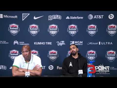 Nigeria post-game presser after 90-87 won over USA Basketball Men's Team