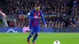 Lionel Messi Stunning Free Kick Goal vs Athletic Bilbao (11.1.2017) HD