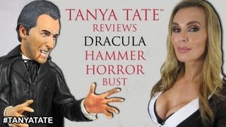 TANYA TATE™ Reviews Dracula Hammer Horror Bust From Titan Merchandise