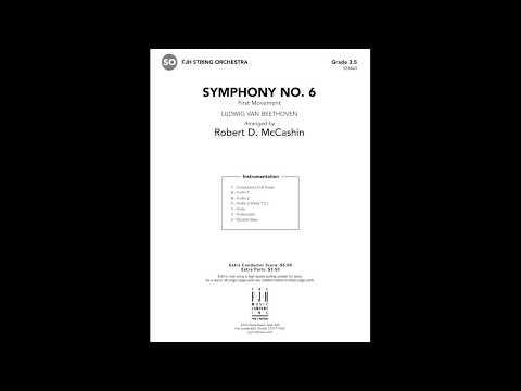 Symphony No. 6 (Beethoven) - arr. Robert D. McCashin