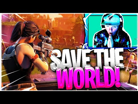 Fortnite Save The World ft. OneCheesyGamer