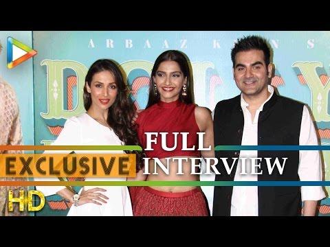 Exclusive: Arbaaz & Malaika Arora Khan's Interview On Dolly Ki Doli | Dabangg 3