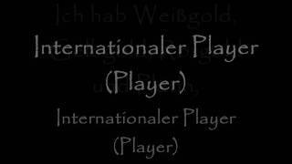 Kollegah - Internationaler Player Re. lyrics (on screen)