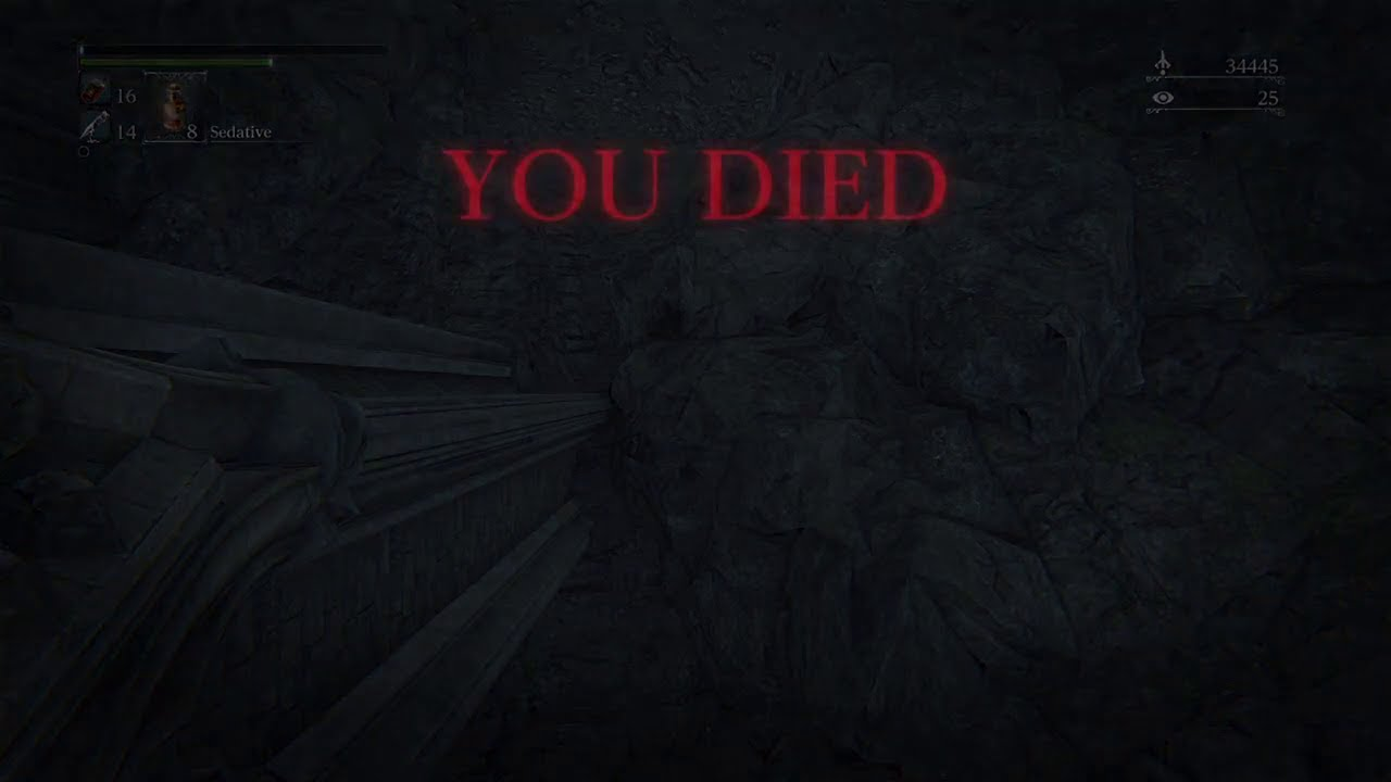 My entire Bloodborne experience in a nutshell