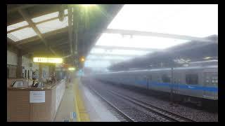 【小田急線】 3000形3081F 急行 新松田行き 狛江通過